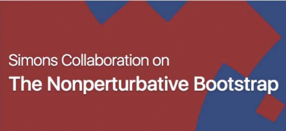Simons Collaboration on The Nonperturbative Bootstrap