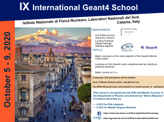IX International Geant4 School