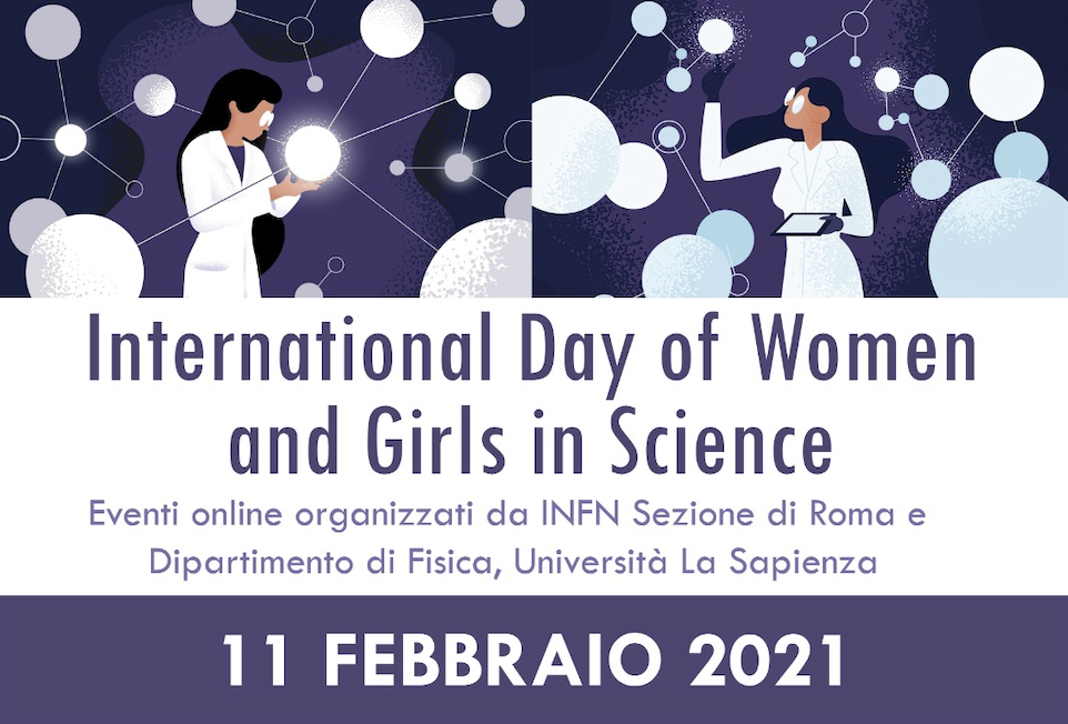 International Day of Women and Girls in Science 2021 - INFN Roma 1 - Sapienza University