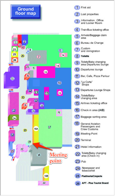 pisa airport terminal map 4th Conference On Pet Mr And Spect Mr 17 20 May 2015 Travel pisa airport terminal map